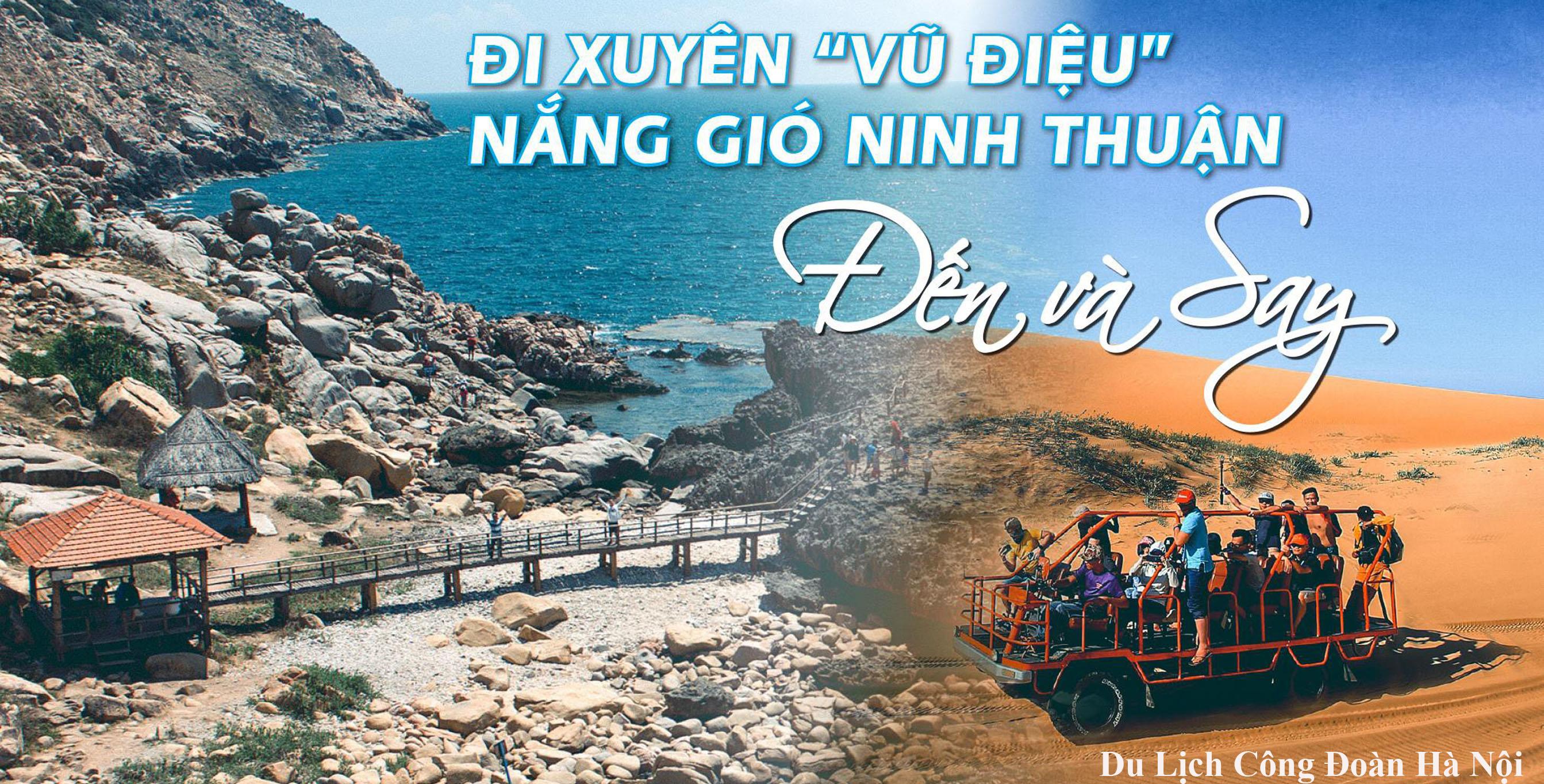 Hà Nội - Mũi Né - Ninh Thuận - Nha Trang - Hà Nội